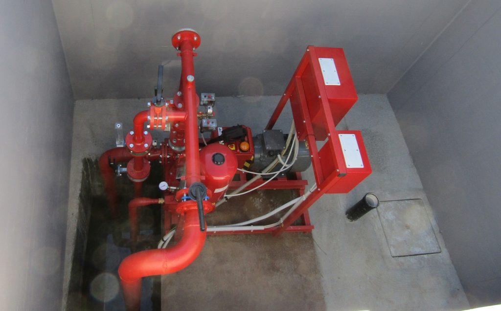 elettropompa antincendio